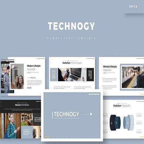 Technogy Powerpoint Template
