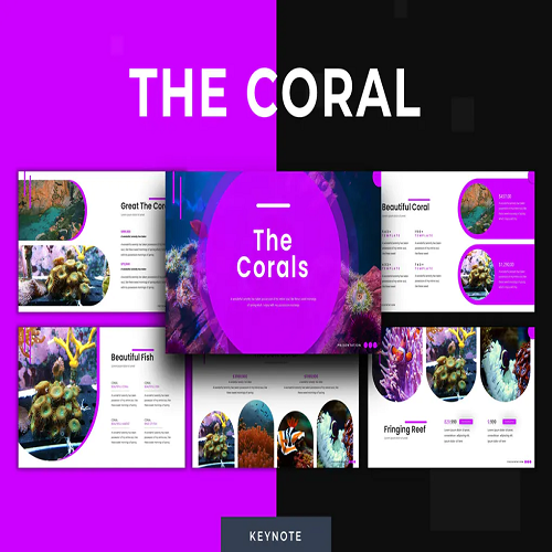 The Corals Keynote Template