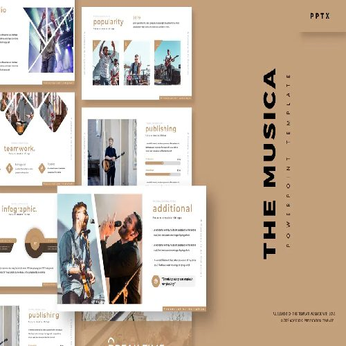 The Musica Powerpoint Template