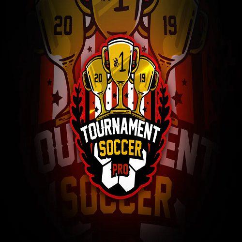 Tournament Soccer Mascot Esport Logo