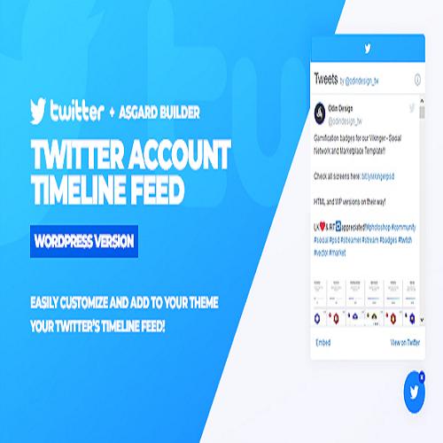 Twitter Timeline Feed WordPress Plugin
