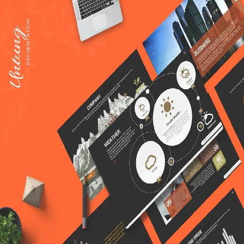 Untung Powerpoint Template