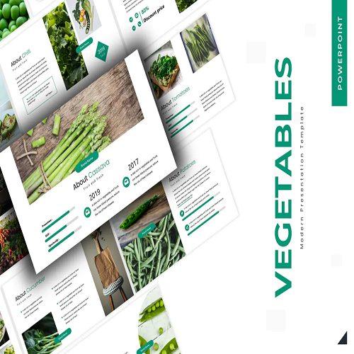 Vegetables Keynote Template