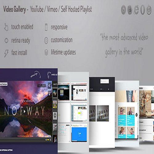 Video Gallery Wordpress Plugin w YouTube Vimeo Facebook pages