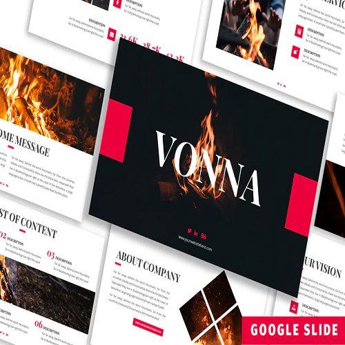 Vonna Business Google Slide Template