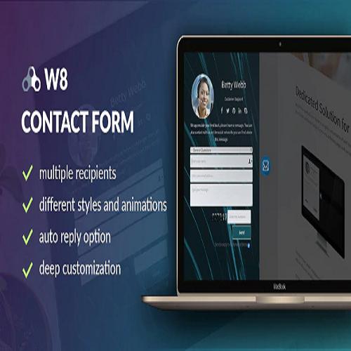 W8 Contact Form WordPress Contact Form Plugin