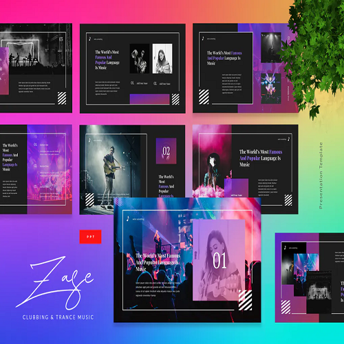 Zase Clubbing And Trance Music Powerpoint