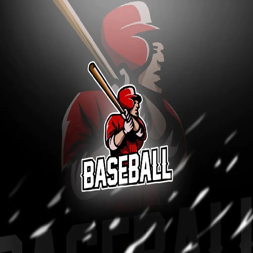 baseball Mascot Esport Logo