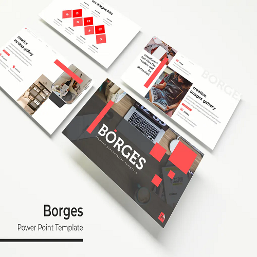 Borges Powerpoint Template