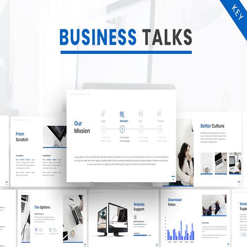 Business Talk Company Keynote Template