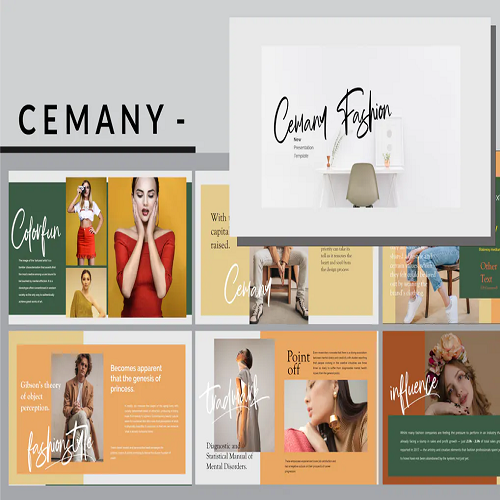 Cemany Fashion PowerPoint Template