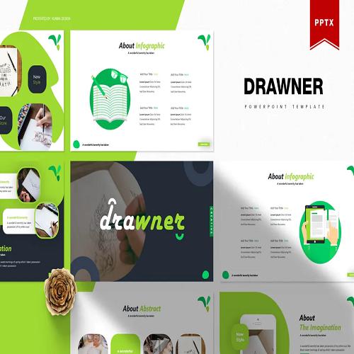 Drawner Powerpoint Template