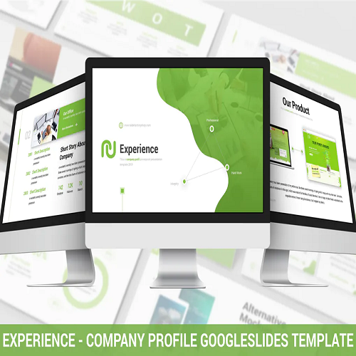 Experience Company Profile GoogleSlides Template