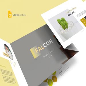 Falcon Google Slide Template