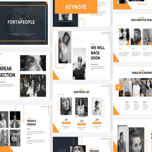 Fortapeople Business Keynote Template