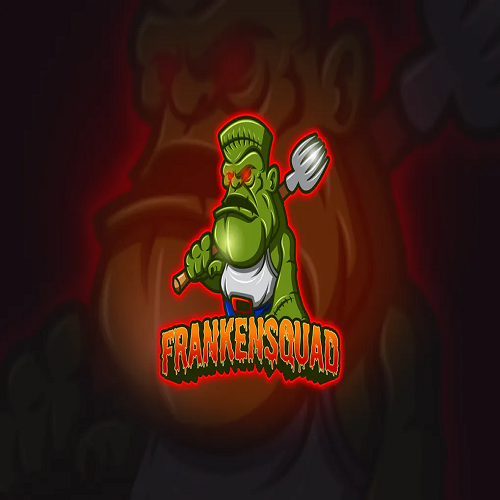 Frankenstain Mascot and Esport Logo