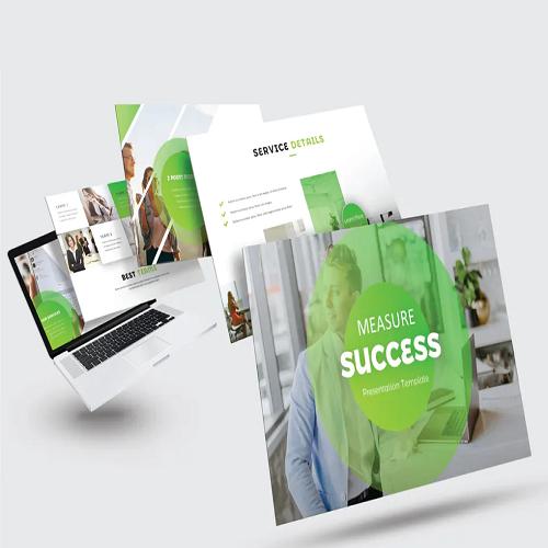 MEASURE SUCCESS Powerpoint V296