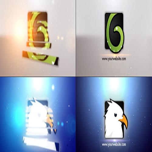 Minimal Slice Logo V2 Apple Motion