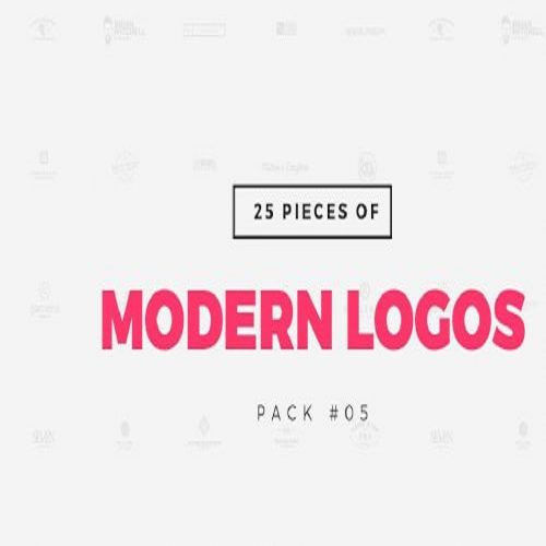 Pack 05 25 Modern Logo Templates