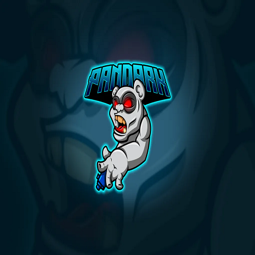 Panda Mascot Esport Logo