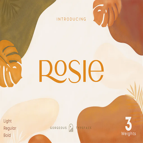 Rosie Sans Gorgeous Typeface