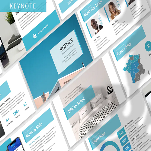 Rufhes Business Keynote Template