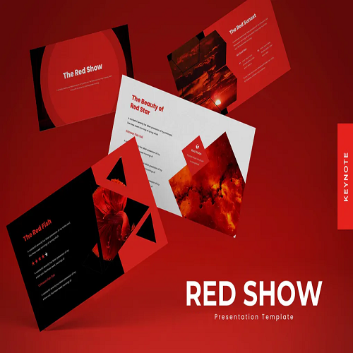 The Red Show Keynote Template