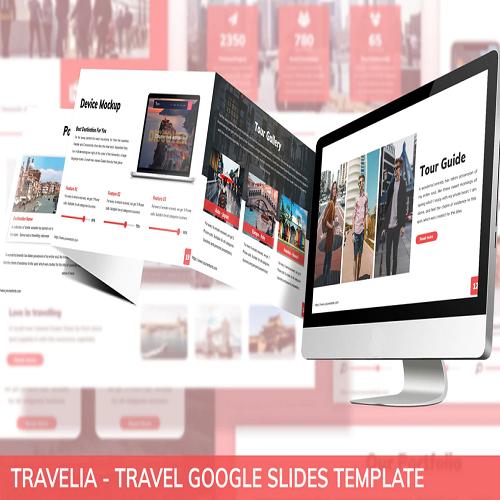Travelia Travel Google Slides Template