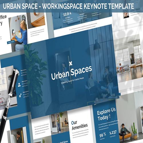 Urban Space Workingspace Keynote Template