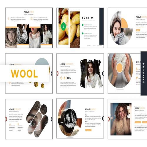 Wool Keynote Template