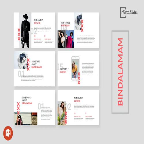 Bindalamam Simple Powerpoint Template