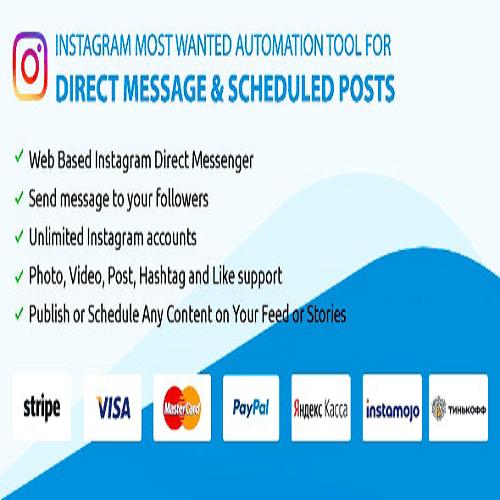 DM Pilot — Instagram Chat Bot Web Direct Messenger Scheduled Posts