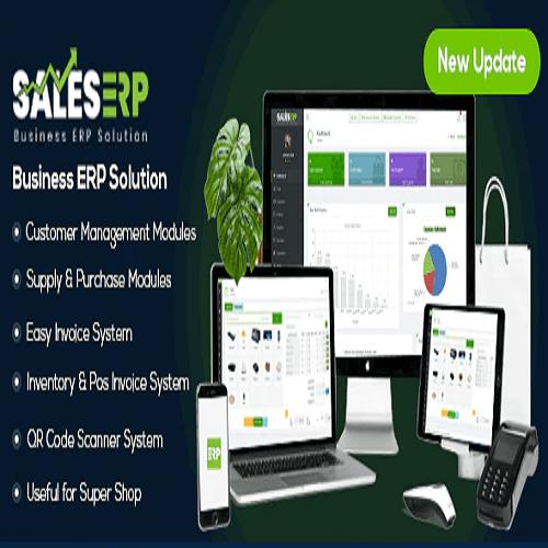 ERP – Business ERP Solution Product Shop Company Management