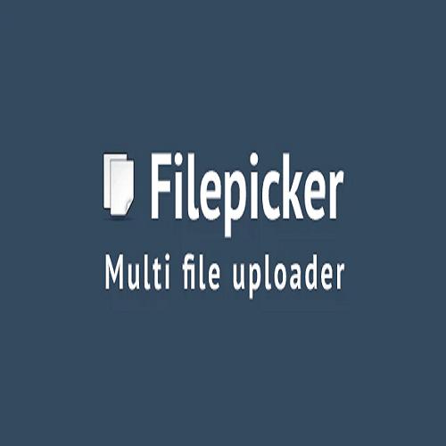 Filepicker Multi file uploader