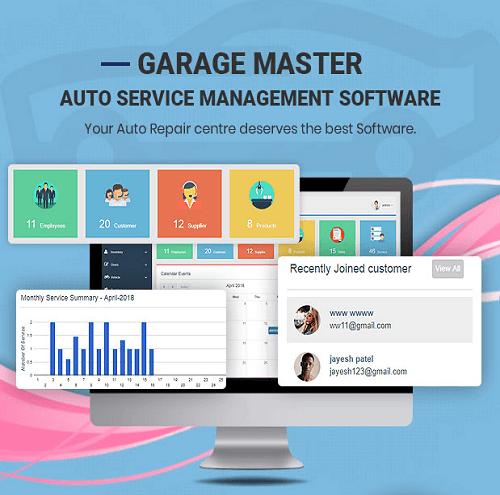 Garage Master Garage Management System 1