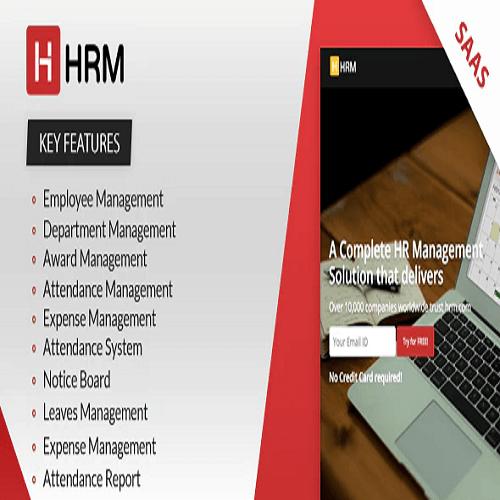 HRM SAAS Human Resource Management