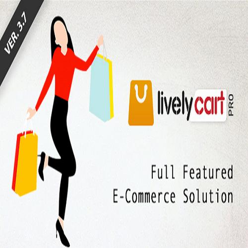LivelyCart PRO Laravel E Commerce Platform Shopping Cart