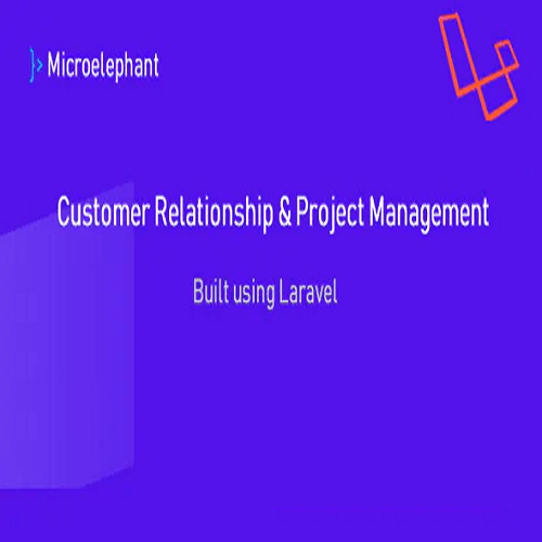 Microelephant CRM Project Management System built with Laravel