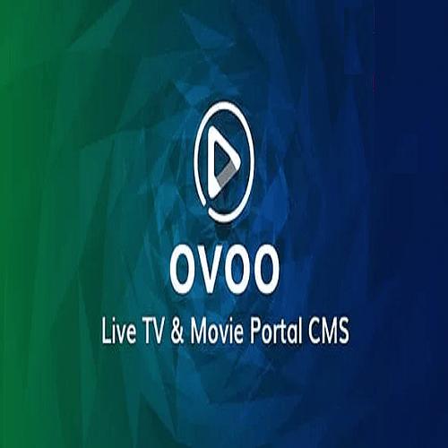 OVOO Live TV Movie Portal CMS with Membership System