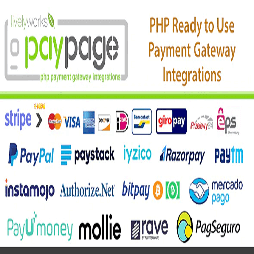 PayPage PHP ready to use Payment Gateway Integrations