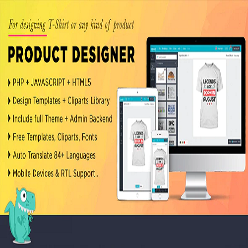 Product Designer for PHP Standalone Lumise