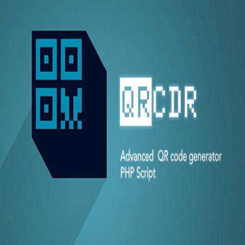 QRcdr responsive QR Code generator