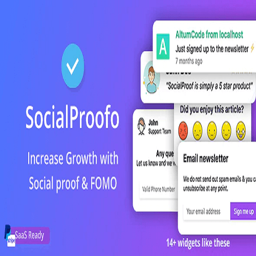 SocialProofo 14 Social Proof FOMO Notifications for Growth SaaS Ready 1