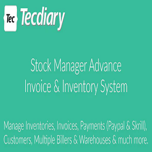 Stock Manager Advance Invoice Inventory System