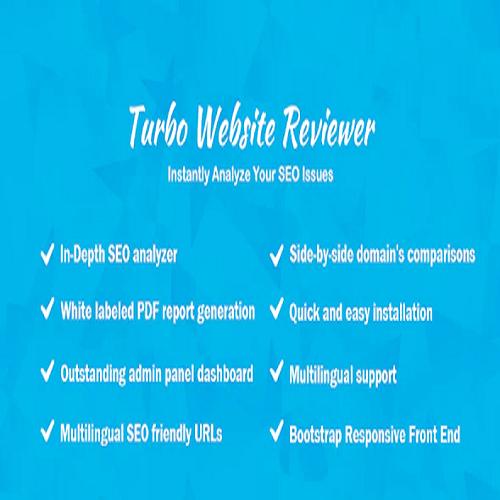 Turbo Website Reviewer In depth SEO Analysis Tool 1
