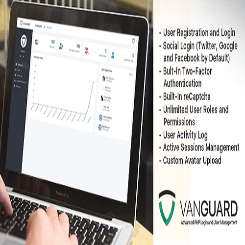 Vanguard Advanced PHP Login and User Management