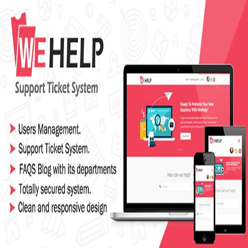 WeHelp Ticket Support System