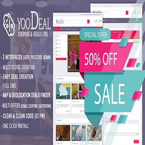 YooDeal - Coupon, Deal & Online Quotation