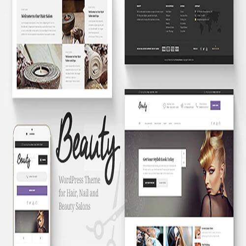 Beauty Hair Salon Spa WordPress Theme