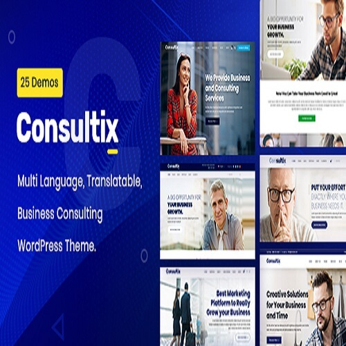 Consultix Business Consulting WordPress Theme